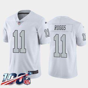 Las Vegas Raiders Henry Ruggs White Rush Jersey